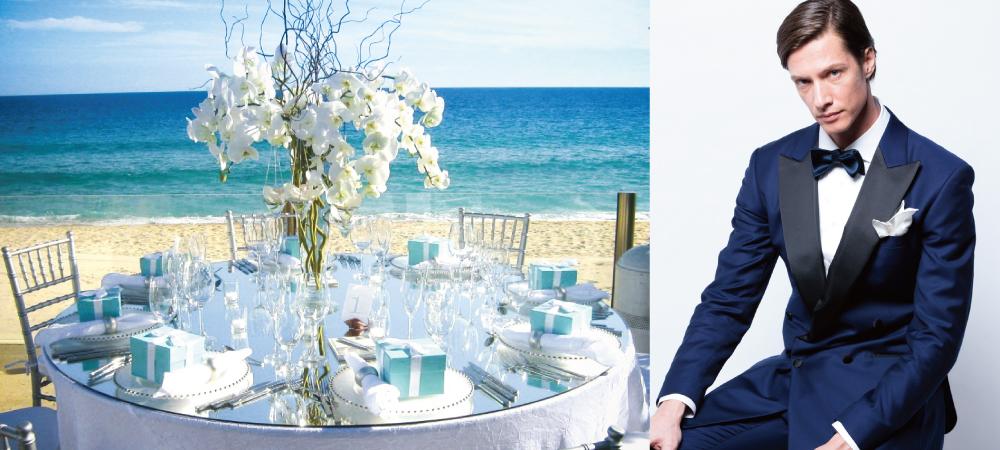 ビーチや海外挙式で似合うタキシード