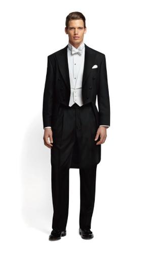 結婚式の燕尾服