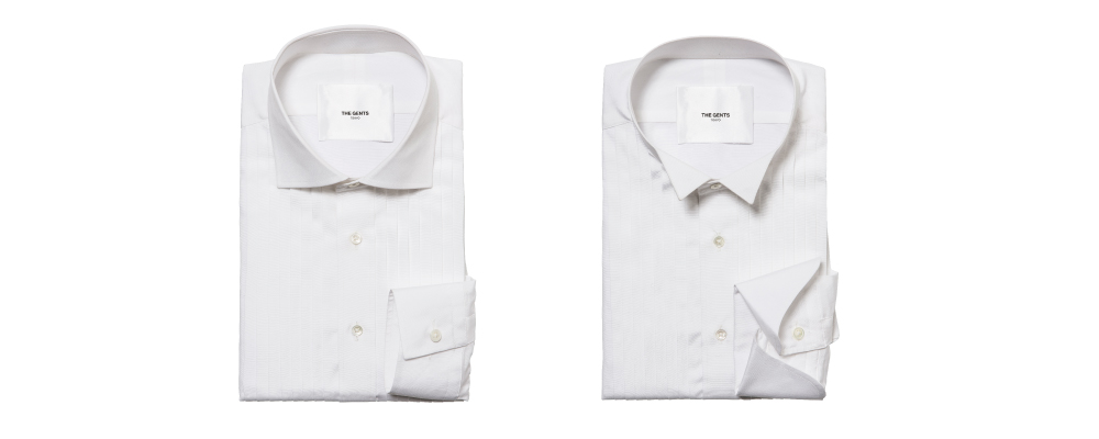 オーダータキシードに合うシャツの選び方
