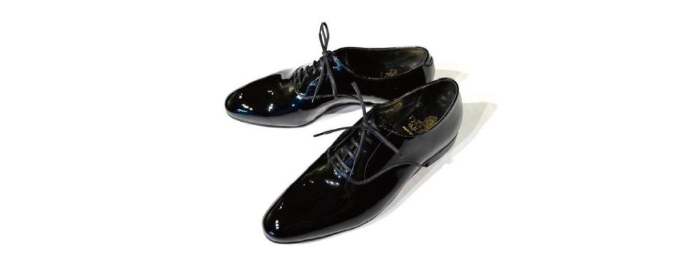パテントシューズなど正しいタキシードの靴の選び方